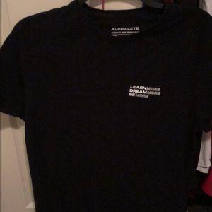 Alphalete Black Shirt.